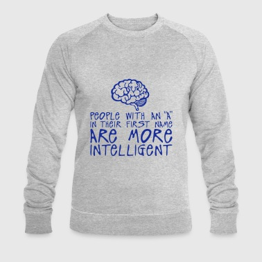 people with a more intelligent citation - Sweat-shirt bio Stanley & Stella Homme
