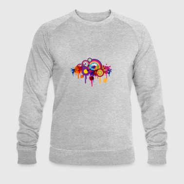 cercles colorés - Sweat-shirt bio Stanley & Stella Homme