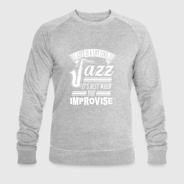 jazz - Sweat-shirt bio Stanley & Stella Homme