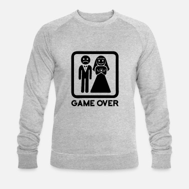 Over Game Over black - Men's Organic Sweatshirt by Stanley & Stella