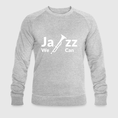 JAZZ WE CAN - blanc - Sweat-shirt bio Stanley & Stella Homme