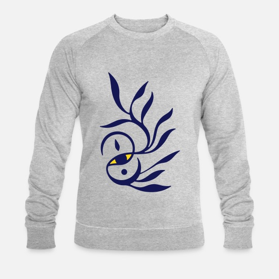 Alchemy Hoodies & Sweatshirts - Alchemy-Eye - Men's Organic Sweatshirt heather grey