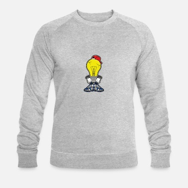 Intelligent L'ampoule intelligente. Cool, intelligent et intelligent! - Sweat-shirt bio Stanley & Stella Homme