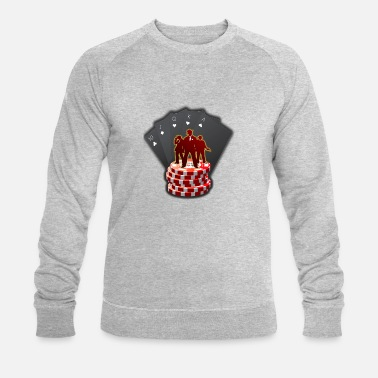 Casino Casino - Men's Organic Sweatshirt by Stanley & Stella