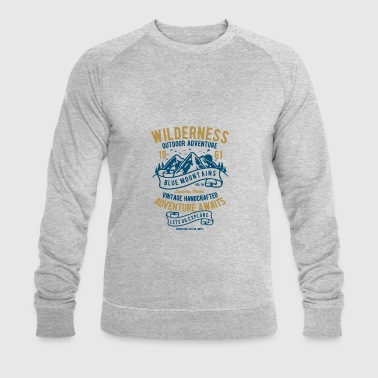 Wilderness - Men's Organic Sweatshirt by Stanley & Stella