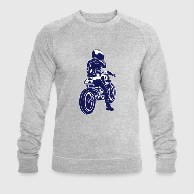 motorcycle - Men's Organic Sweatshirt by Stanley & Stella