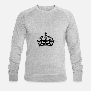 Keep Calm Crown Keep Calm Krone / crown - Männer Bio Pullover