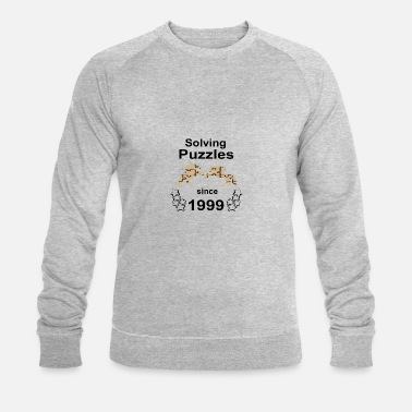 Since 1999 Solving puzzles since 1999 - Männer Bio Pullover