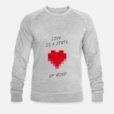 bd387758742a Love State of mind Pixel valentinstag Nerd Game ga Männer Vintage T ...