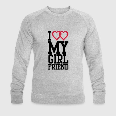 I love my Girlfriend - Økologisk sweatshirt for menn fra Stanley & Stella