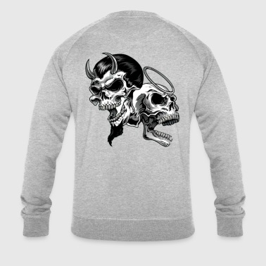 scull - Men's Organic Sweatshirt by Stanley & Stella