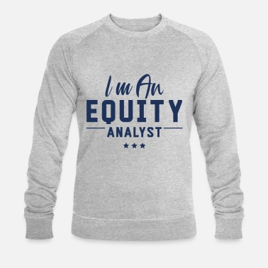 Capitalism analyste d'actions - Sweat-shirt bio Homme