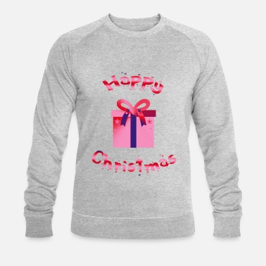 Christmas Present Christmas present Happy Christmas - Men's Organic Sweatshirt