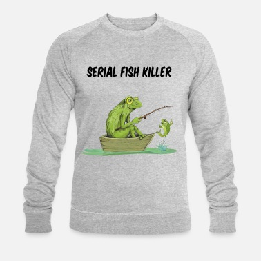 Stylé Serial fish killer - Sweat-shirt bio Homme