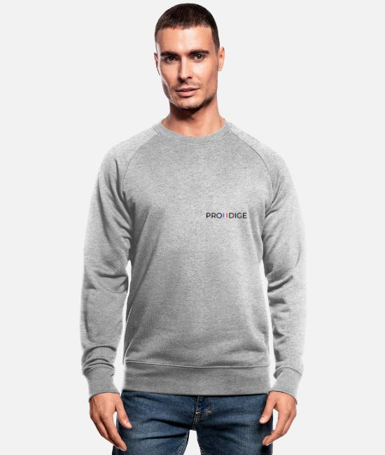 Agreable Sweat-shirts - Vêtement marque PRODIGE - Sweat-shirt bio Homme gris chiné