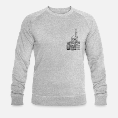 Moschhee Potsdam steam engine house - Men's Organic Sweatshirt