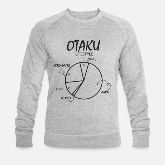 Cosplay Hoodies & Sweatshirts - Otaku's lifestyle - Men's Organic Sweatshirt heather grey