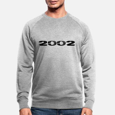 Birth 2002 year of birth - Men's Organic Sweatshirt