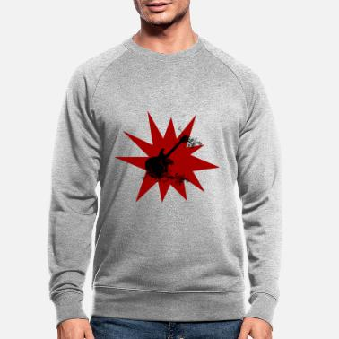 Rock punk rock - Men's Organic Sweatshirt