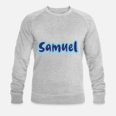 Samu Samuel Sammy last name first name - Men's Organic Sweatshirt
