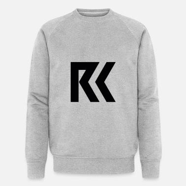 Rk Design Sweat shirt contraste gris chinébleu marine