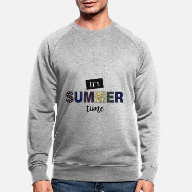 Daylight Saving Time daylight saving time - Men's Organic Sweatshirt