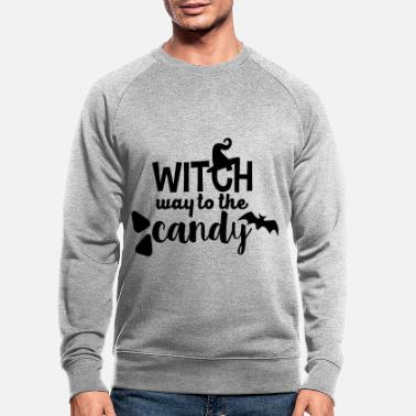 Witch Witch - Men's Organic Sweatshirt