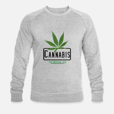 Cannabis for medical use - Männer Bio Pullover