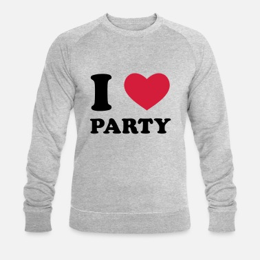 I Love Party I Love Party - Sweat-shirt bio Homme