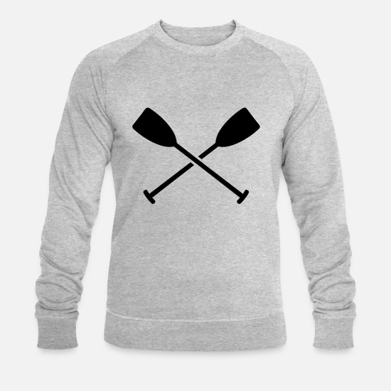 Water Hoodies & Sweatshirts - Paddle - Men's Organic Sweatshirt heather grey