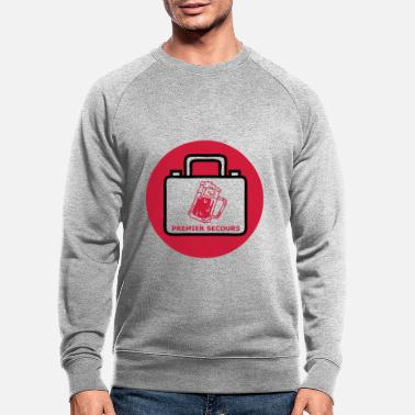 First Aid first aid - Men's Organic Sweatshirt