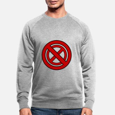 Against Against against - Men's Organic Sweatshirt