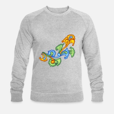 India Oriental ornament 2 - Men's Organic Sweatshirt