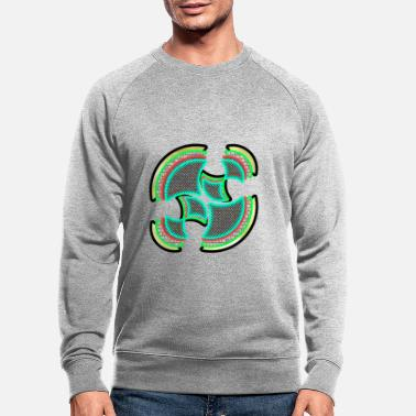 Stylish Bright colours - Men's Organic Sweatshirt