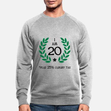 Motto 25 - 20 plus tax - Männer Bio Pullover