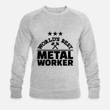 Worker Metal worker - Sweat-shirt bio Homme