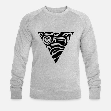 Psycedelic Triangle - Sweat-shirt bio Homme
