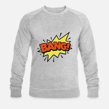 Bulle Bd Bulle BD BANG! -Speechbubble, explosion - Sweat-shirt bio Homme