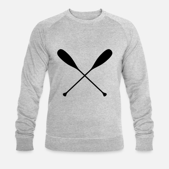 Paddle Hoodies & Sweatshirts - Paddle - Men's Organic Sweatshirt heather grey
