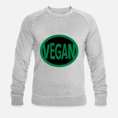 Super Vegan Super, Superheld, Superheldin, Hero, Super Vegan - Men's Organic Sweatshirt