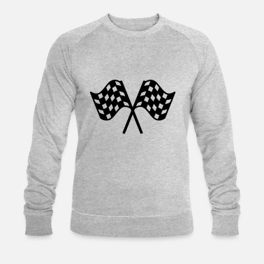 Sport Motorisés 2 flags race - Men's Organic Sweatshirt
