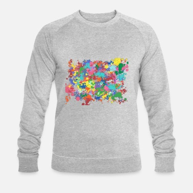 Taches De Couleur Farbkleckse - Sweat-shirt bio Homme