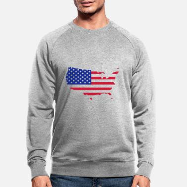 Usa usa - Men's Organic Sweatshirt