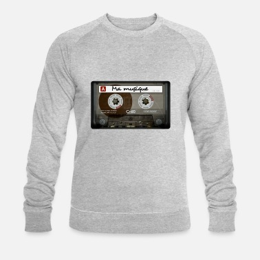 Cassette Cassette audio - Sweat-shirt bio Homme