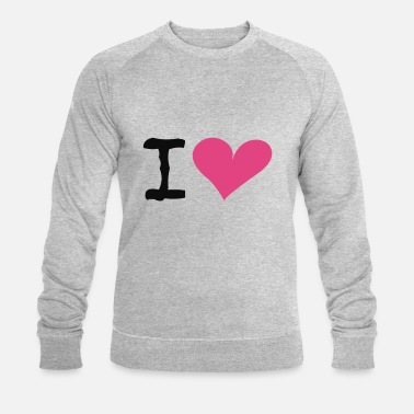 I Heart I Heart - Sweat-shirt bio Homme