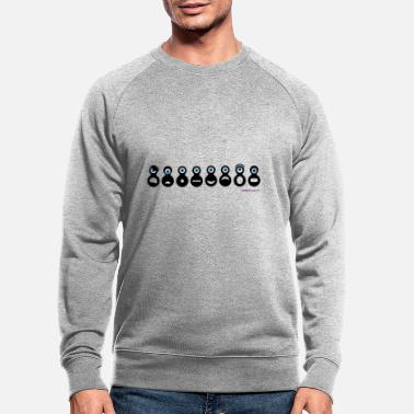Gevoel Emotions - Mannen bio sweater