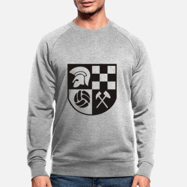 Skinhead Ska Coat of Arms - Men's Organic Sweatshirt