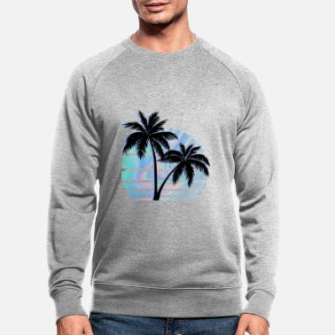 Palm Palm Tree Hologram - Men's Organic Sweatshirt