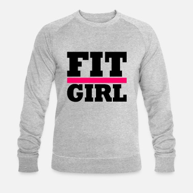 Workout FIT GIRL - Sweat-shirt bio Homme