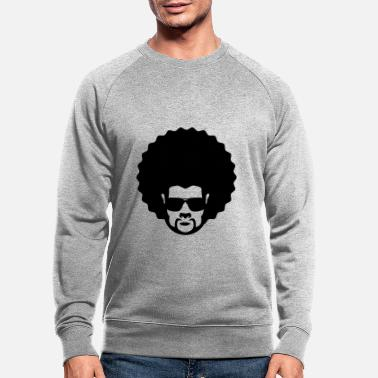 Afro afro - Sweat-shirt bio Homme